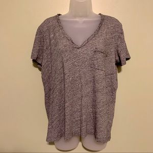 Madewell Pocket Tee Shirt, Size Large